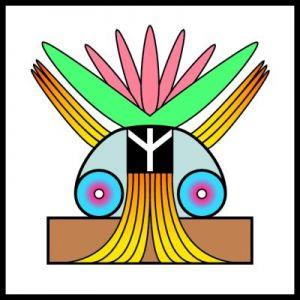 Símbolo dado por la Enseñanza Espiritual, representando la Paz Geisteslehre-Symbol Frieden